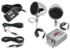 Pyle PLMCA10 100 Watts Motorcycle/ATV/Snowmobile Mount MP3/Ipod Amplifier with Dual handle-bar Mount Weatherproof speakers W/FM Radio