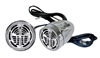 Pyle PLMCS63 400 Watts Bicycle/Snowmobile Mount w/Dual handle-bar Mount Aluminium Diacast Weatherproof speakers