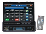 Pyle PLTS79BT 7'' In-Dash Motorized TouchScreen TFT/LCD Monitor w/ DVD/CD/MP3/MP4/USB/SD/AM/FM/RDS/Bluetooth