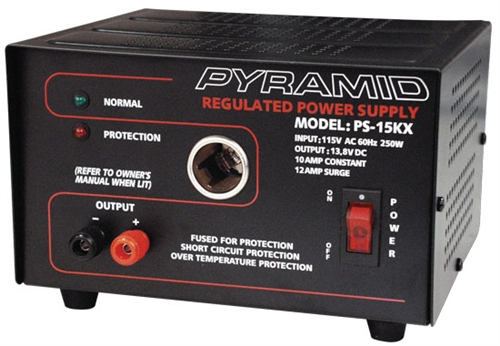 Electronic Equipment Supplies Amp Services : Pyramid ps kx amp power supply w cigarette lighter plug
