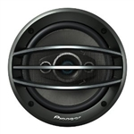 "Pioneer TS-A1684R 6-1/2"" 4-Way A-Series Coaxial Car Audio Speakers"