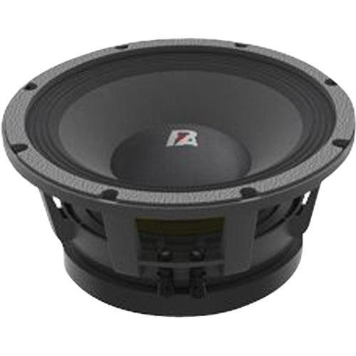Two PA Audio 1200 Watts 10'' High Power Midbass and Lanzar x6 Crossover