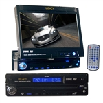 Legacy LDTSN7 7'' Motorized LCD Touch Screen Monitor DVD/CD/MP3 Player/AM/FM Receiver