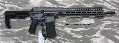 "POF USA GEN 4 P415 EDGE 16"" Tungsten Grey cerakote finish, 5.56mm with E2 extraction, Patriot Ordnance Factory gas piston rifles in stock. SKU 01145"