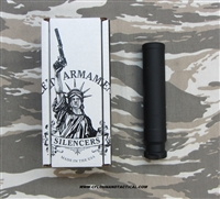 Advanced Armament AAC SR-7 7.62MM Silencer in .308 Win, Advanced Armament part number 64073
