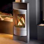 Hearthstone Luno 8160 Contemporary Gas Stove (Shown In Gray)