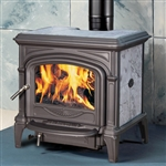 Hearthstone Phoenix 8612 Soapstone Wood Stove (Shown In Black Matte)