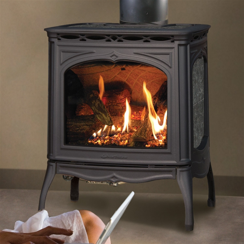 Hearthstone Tucson 8702 Soapstone Direct Vent Gas Stove At Obadiah 39 S Woodstoves