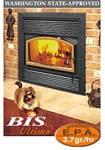 Security BIS Ultima Wood Burning Fireplace