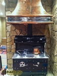 Kitchen Queen 480 Wood Burning Cookstove