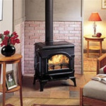 Majestic Dutchwest Cast Iron 2477 Wood Burning Stove (Small)