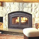 Montecito Estate EPA II-Approved High-Efficiency Fireplace