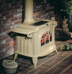 Vermont Resolute Acclaim Cast Iron Wood Burning Stove