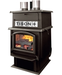 J. A. Roby Tison+ Wood Stove