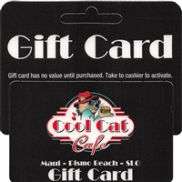 Cool Cat Cafe Gift Card
