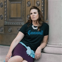 """The Cannonball"" Ladies T-shirt"
