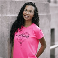 """Cannonball Butterfly Art"" Ladies T-shirt"