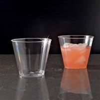emi yoshi emicwt5 clear ware 5 oz plastic tumblers