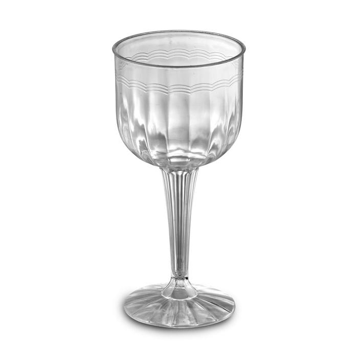 96 disposable plastic wine