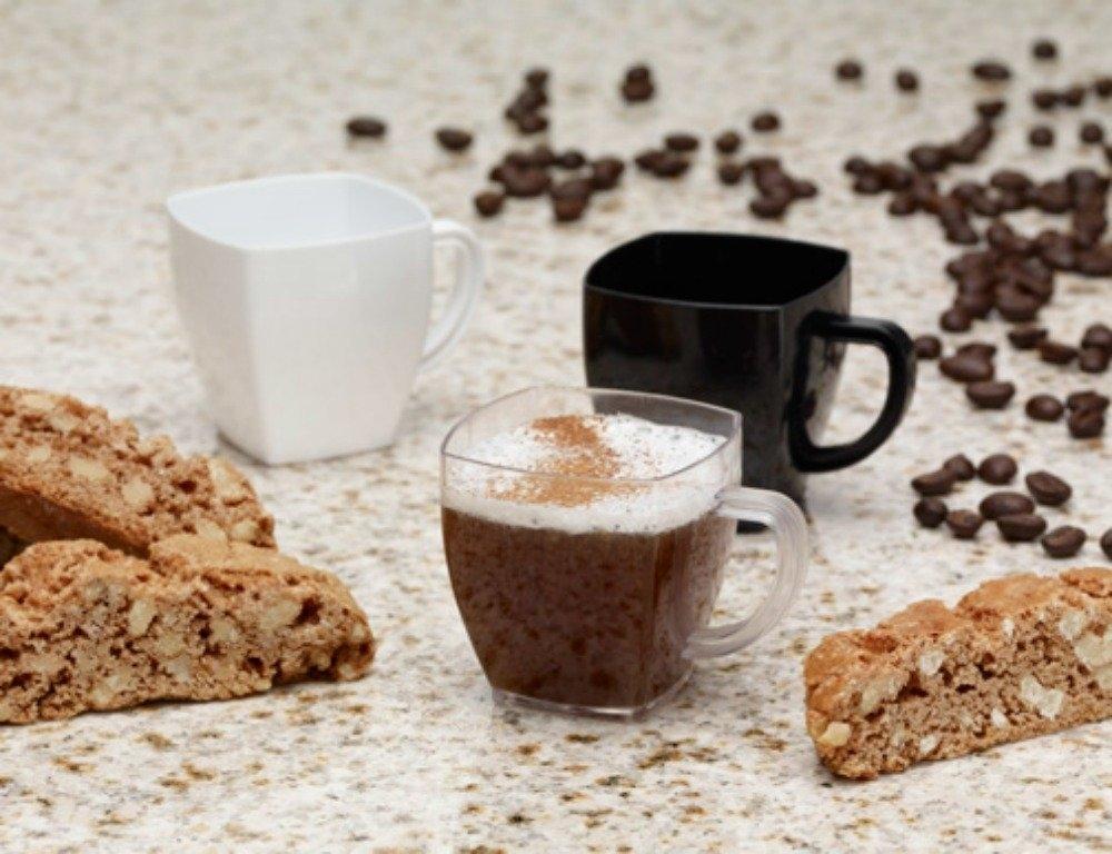 Emi Yoshi Sm2 Squares 2 Oz Mini Square Espresso Coffee Mugs