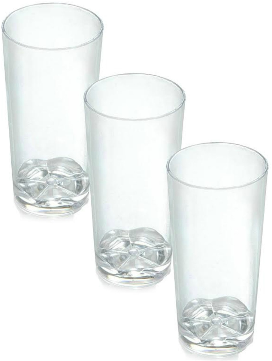 Good Zappy 1.75 Oz Shooter Glasses Heavy Weight Disposable Plastic Tall Shot  Glasses