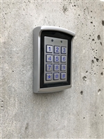 Stainless steel water proof out door Keypad