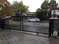 Aluminum Slide Gate with DEA motor