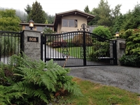 Classical Aluminum Swing gate with Nice Toona 4