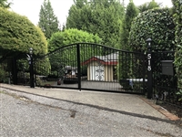 Aluminum Double Swing Gate and Man gate
