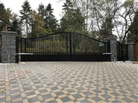 Classical Aluminum Swing gate with Nice Toona 5 High speed