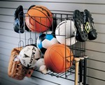 Garage Sports Rack and Basket Fixture Depot