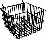 Deep Basket for Slatwall, Gridwall or Pegboard Fixture Depot