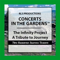 The Infinity Project a Tribute to Journey - TWO RESERVED SEATING TICKETS at a TABLE