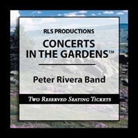 Peter Rivera Band : Founding Rare Earth Lead Singer/Drummer  Two Reserved Seating Tickets at a Table