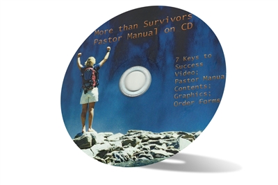 CD-ROM Pastor's Manual for More than Survivors