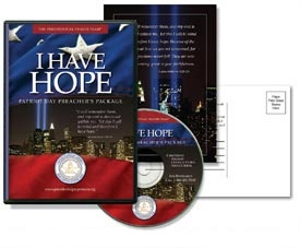I Have Hope 9/11 Patriot Day Preacher Package