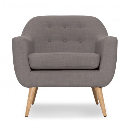 century gray tufted sofa chairs natural wood legs gray club chairs
