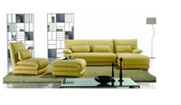 Seriena 4 piece sectional sofa, yellow sectional sofa, sectional sofa with ottoman, leather sectionals, chaise lounge, sectional sofas with chaise, leather sectional sofa with chaise, sectional sofas online, sofas sectionals, leather sectional sofas