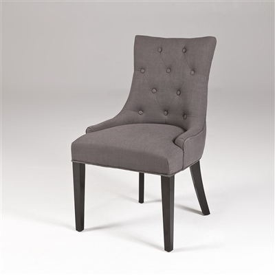 gray dining chair upholstered gray dining chair tufted gray dining