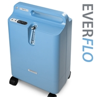 Respironics EverFlo Oxygen Concentrator With Oxygen Precent Indicator