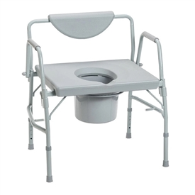 Drive 11130-1 Deluxe Bariatric Commode