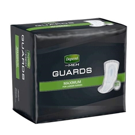 Depend Guards for Men Pads