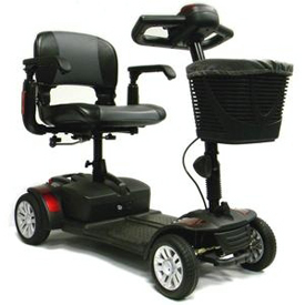 ActiveCare Spitfire 4-Wheel Travel Scooter