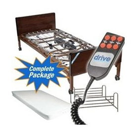 Drive Medical Full Electric Hospital Bed Package