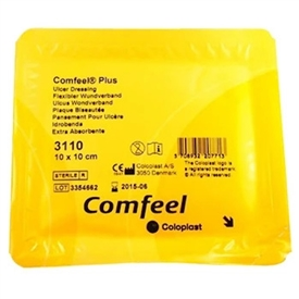Comfeel Plus Hydrocolloid Alginate Ulcer Dressing