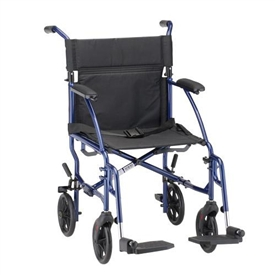 Nova 327/329 Transport Wheelchair Lightweight 19-lb