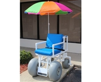 ROLLEEZ All-Terrain Chair, Multi-Color Umbrella