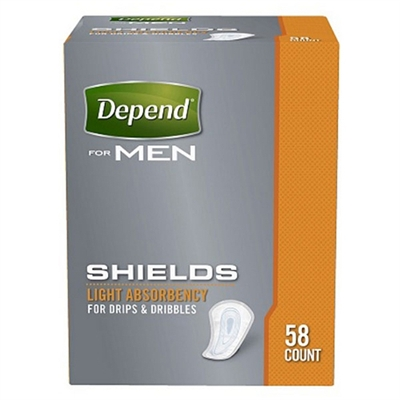 Depends Shields for Men Pads