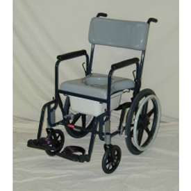 Activeaid 480-20 Stainless Steel Shower Commode Chair