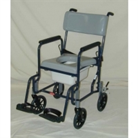 Activeaid 480-8 Stainless Steel Shower Commode Chair